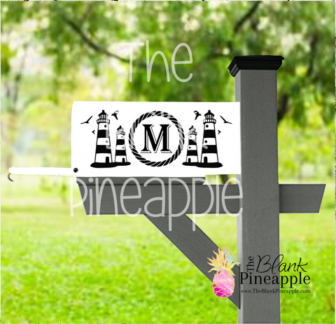 CUT FILE - Personalized Mailbox Lighthouse Design