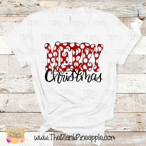 Merry Christmas Sublimation Design PNG