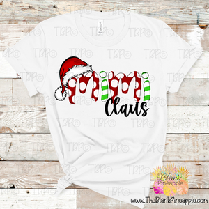 Christmas Mimi Claus Sublimation Design PNG