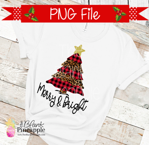 Christmas Tree Sublimation Design
