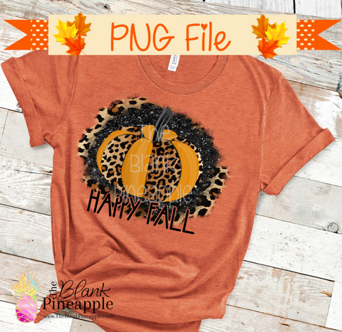 Fall Pumpkin Sublimation Design