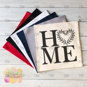 "Canvas Blank Pillow Covers 18"" x 18"""