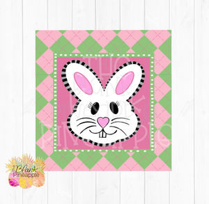 PNG - Easter Bunny Plaid