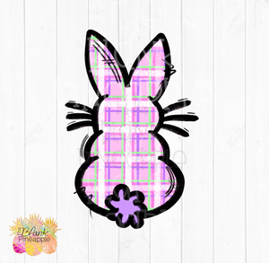 PNG - Plaid Easter Bunny