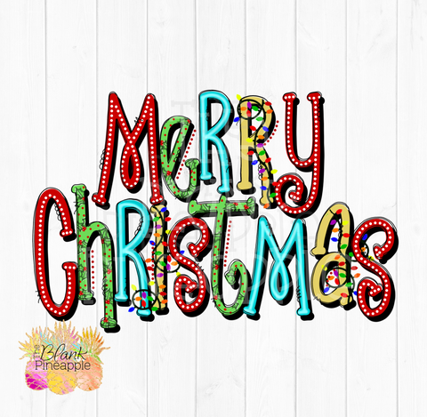 Cute Merry Christmas PNG Sublimation clipart