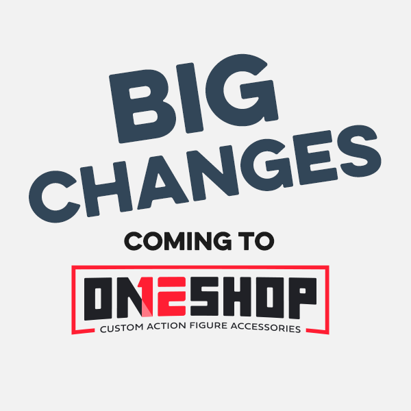 Changes Coming to ONE12 Shop!
