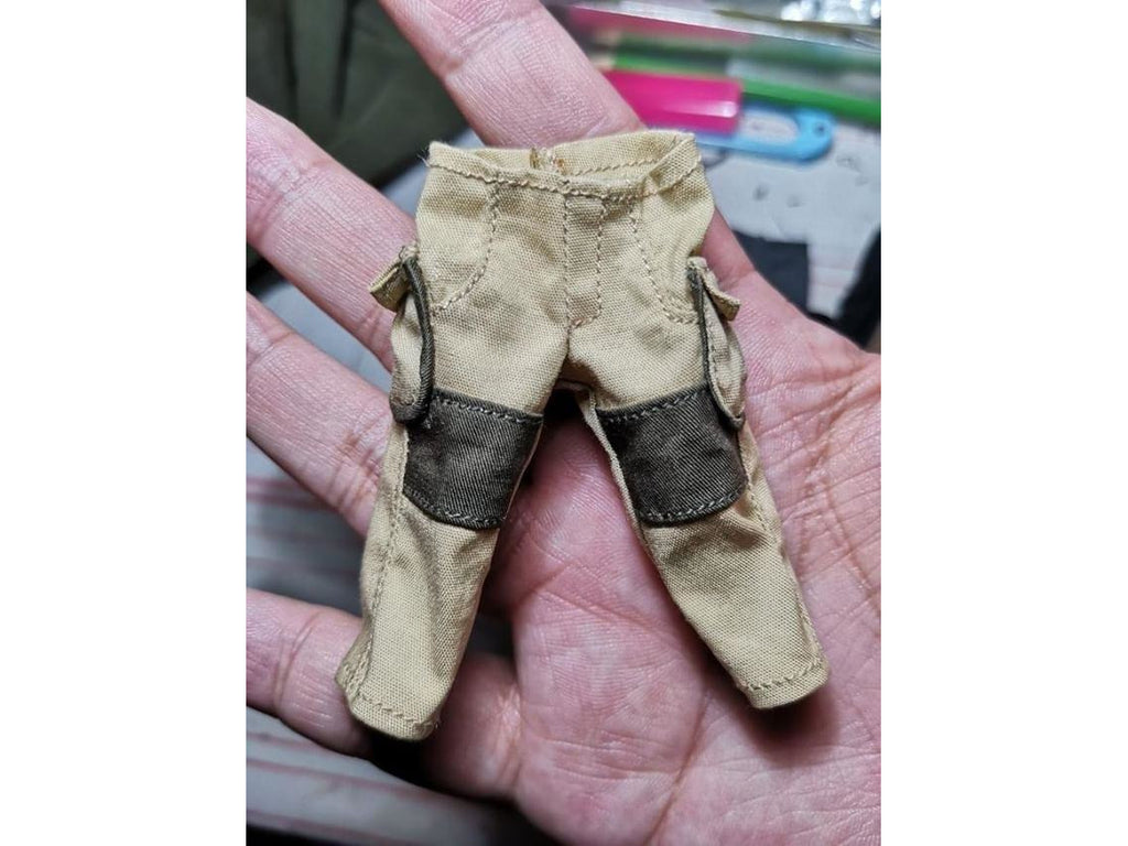 Tan Cargo Pants for Mezco ONE:12 Punisher