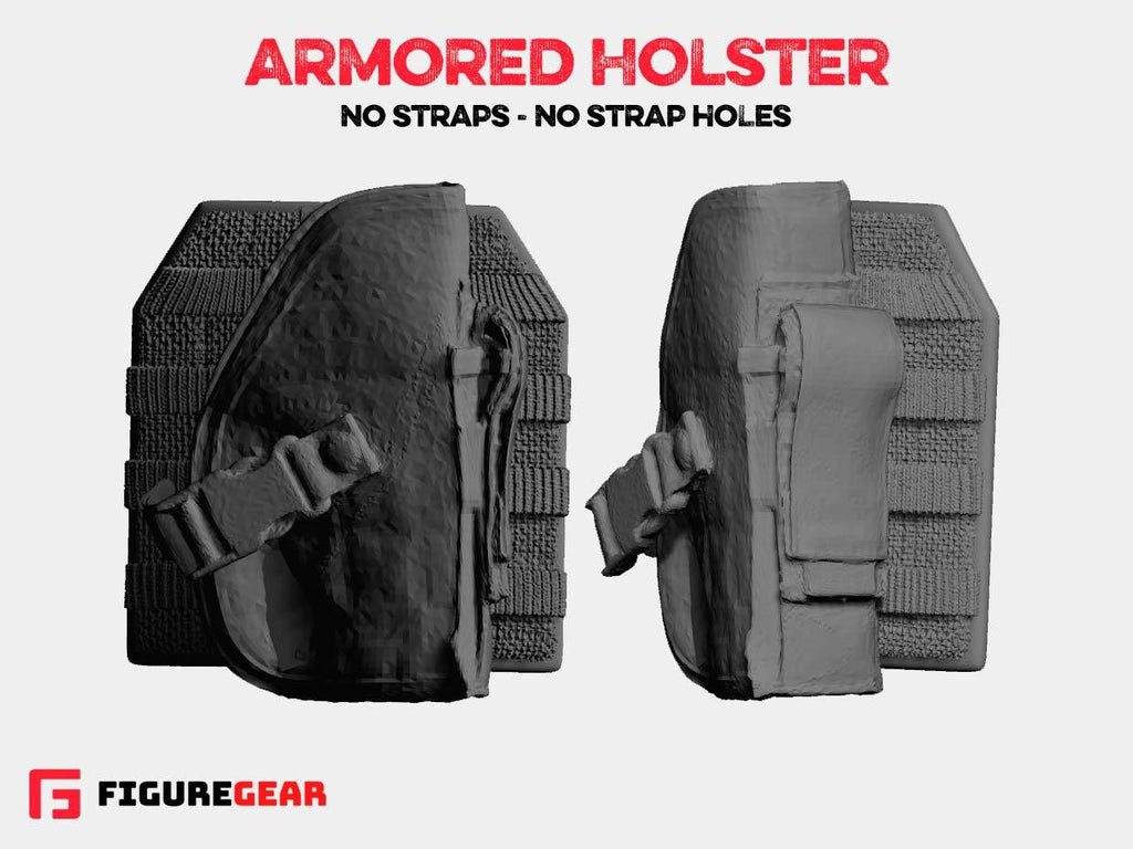 Armored Holster No Straps