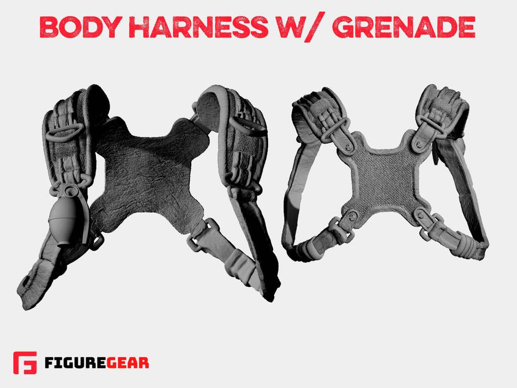 Body Harness w/ Grenade