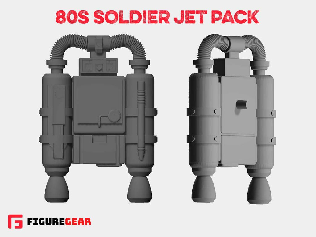 80s Soldier Jet Pack