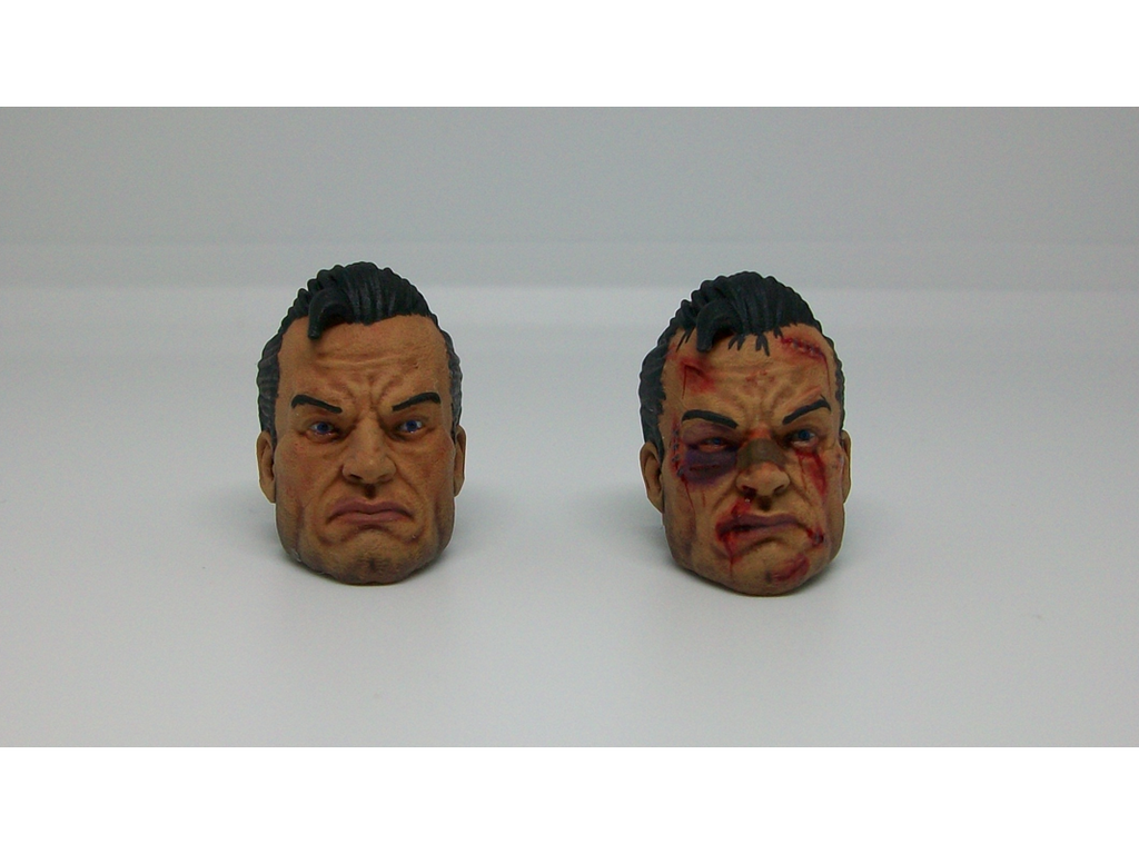 Frank Head Sculpt Set