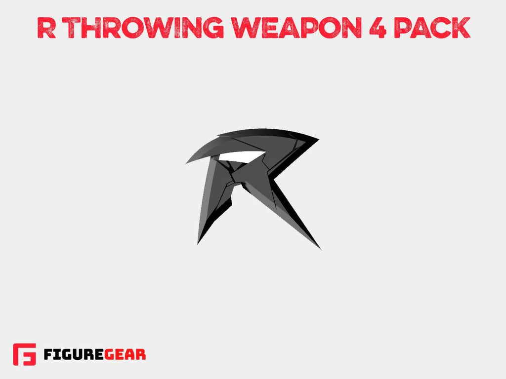 R Throwing Weapon 4 Pack