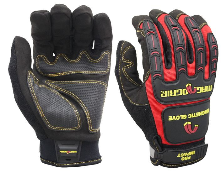 PRO IMPACT MAGNETIC UTILITY GLOVES WITH TOUCHSCREEN TECHNOLOGY