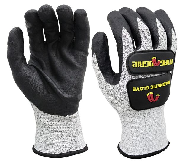 IMPACT CUT RESISTANT MAGNETIC GLOVES WITH TOUCHSCREEN TECHNOLOGY