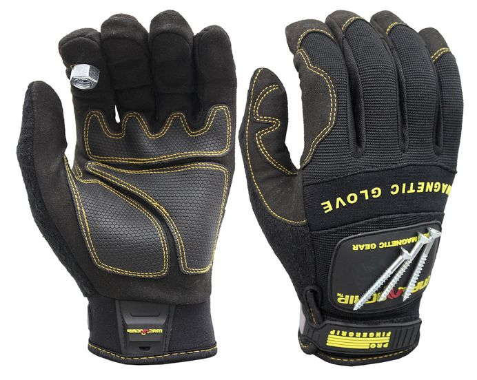 PRO FINGERGRIP MAGNETIC GLOVE WITH TOUCHSCREEN TECHNOLOGY