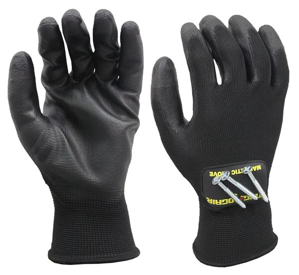 SUPER GRIP ALL PURPOSE MAGNETIC GLOVES WITH TOUCHSCREEN TECHNOLOGY