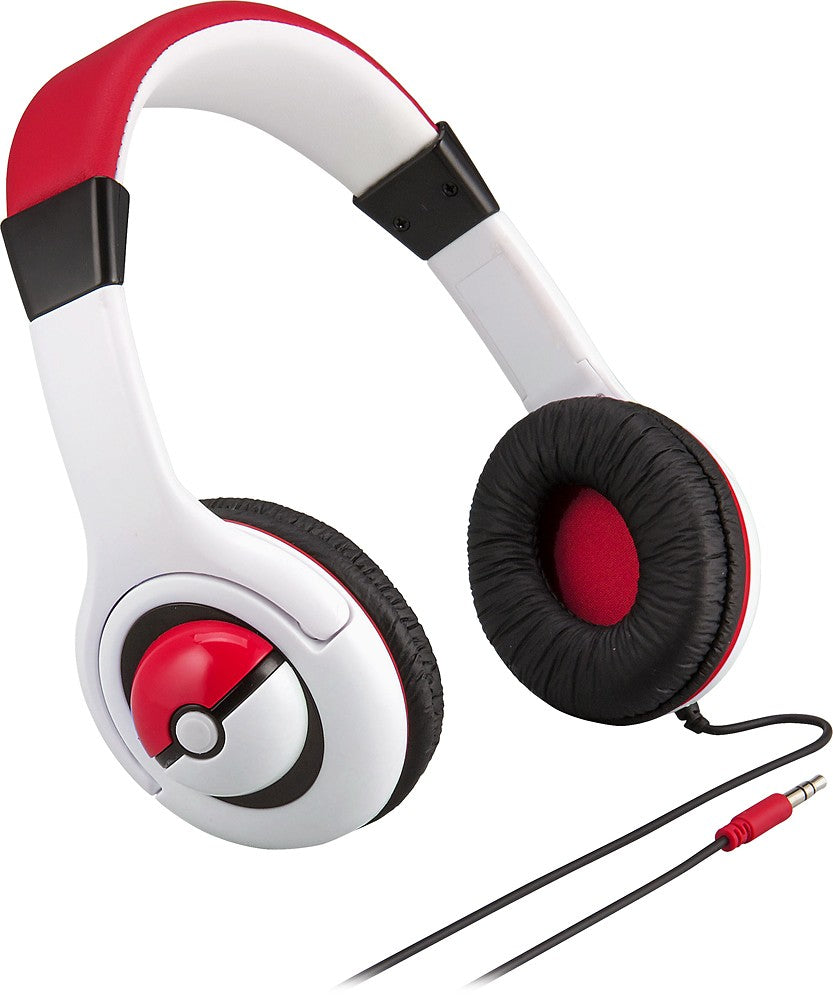 eKids - Pokemon Wired On-Ear Headphones