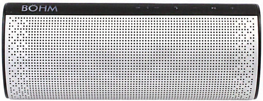 BOHM S4 Wireless Portable Bluetooth Speaker - Silver