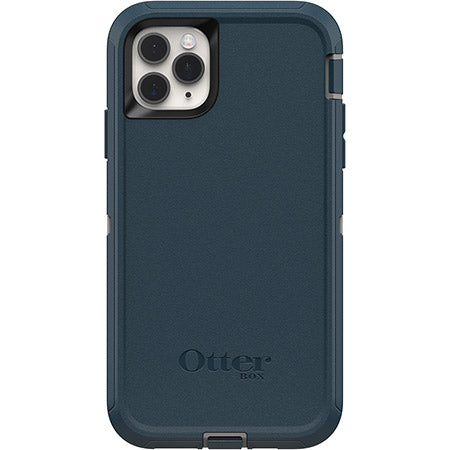 OtterBox DEFENDER SERIES Case & Holster for iPhone 11 Pro Max - Gone Fishing Blue (Certified Refurbished)