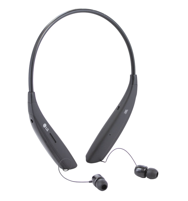 LG TONE Ultra SE Bluetooth Wireless Stereo Headset - Black (Certified Refurbished)