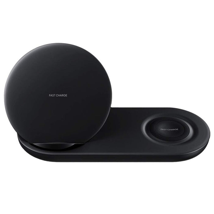 Samsung Duo Fast Wireless Charging Dock (EP-N6100) - Black (Certified Refurbished)