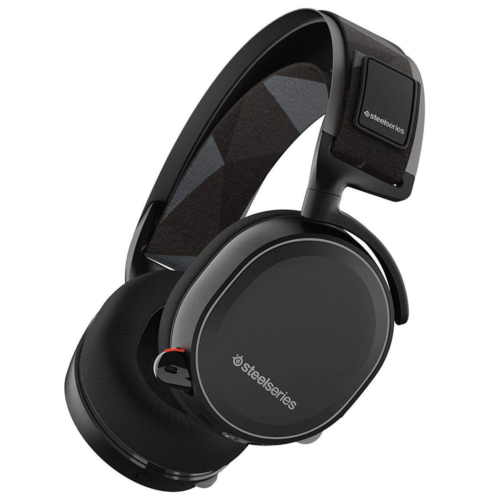 SteelSeries Arctis 7 Wireless Gaming Over-ear Headset with 7.1 Surround - Black (Certified Refurbished)