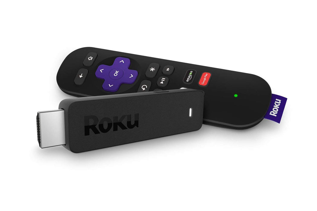 Roku Streaming Stick (6th Generation) - Black (Certified Refurbished)