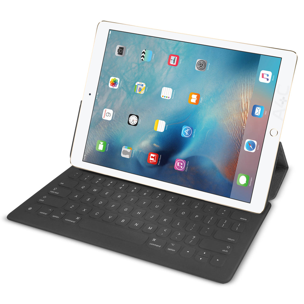 Apple Smart Keyboard Case for Apple iPad Pro 9.7-Inch - Gray (Certified Refurbished)