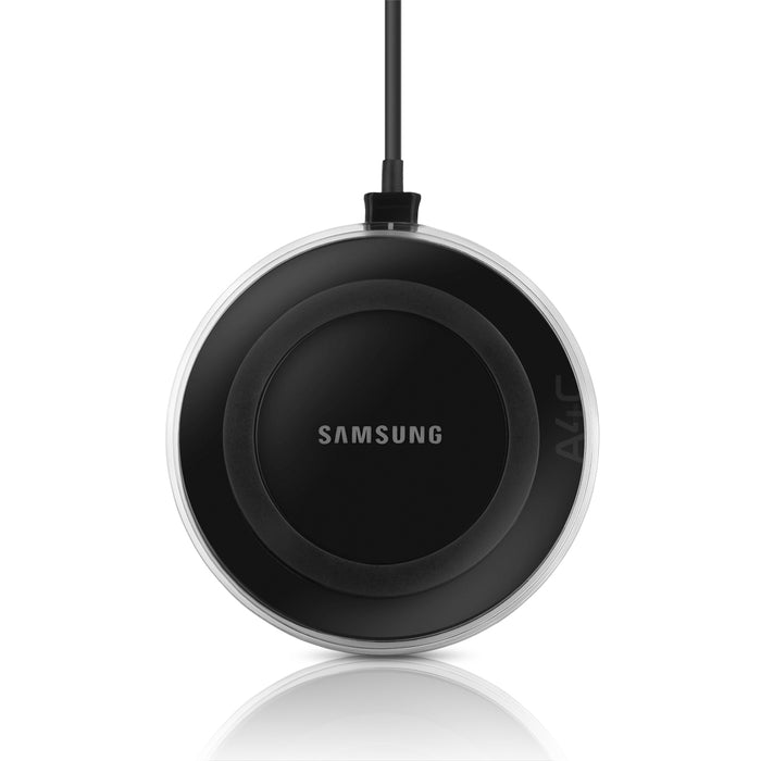 Samsung Wireless Qi Charging Pad with 2A Wall Charger - Black Sapphire (Certified Refurbished)