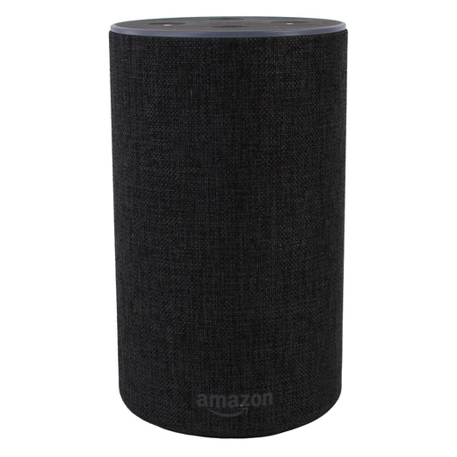 Amazon Echo 2nd Generation Smart Speaker With Alexa - Charcoal Black (Certified Refurbished)