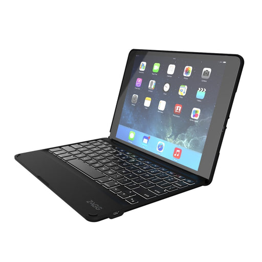 Zagg Folio Wireless Keyboard & Case for iPad Air 2 - Black (Certified Refurbished)