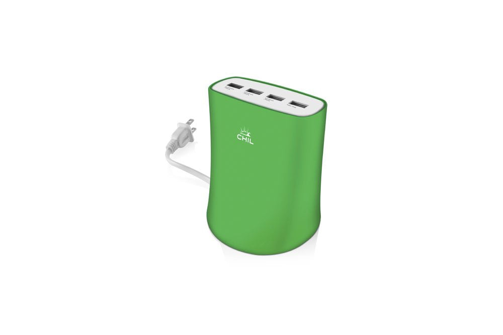 Chil Powershare Reactor Multidevice USB Charging Station - Green (Certified Refurbished)