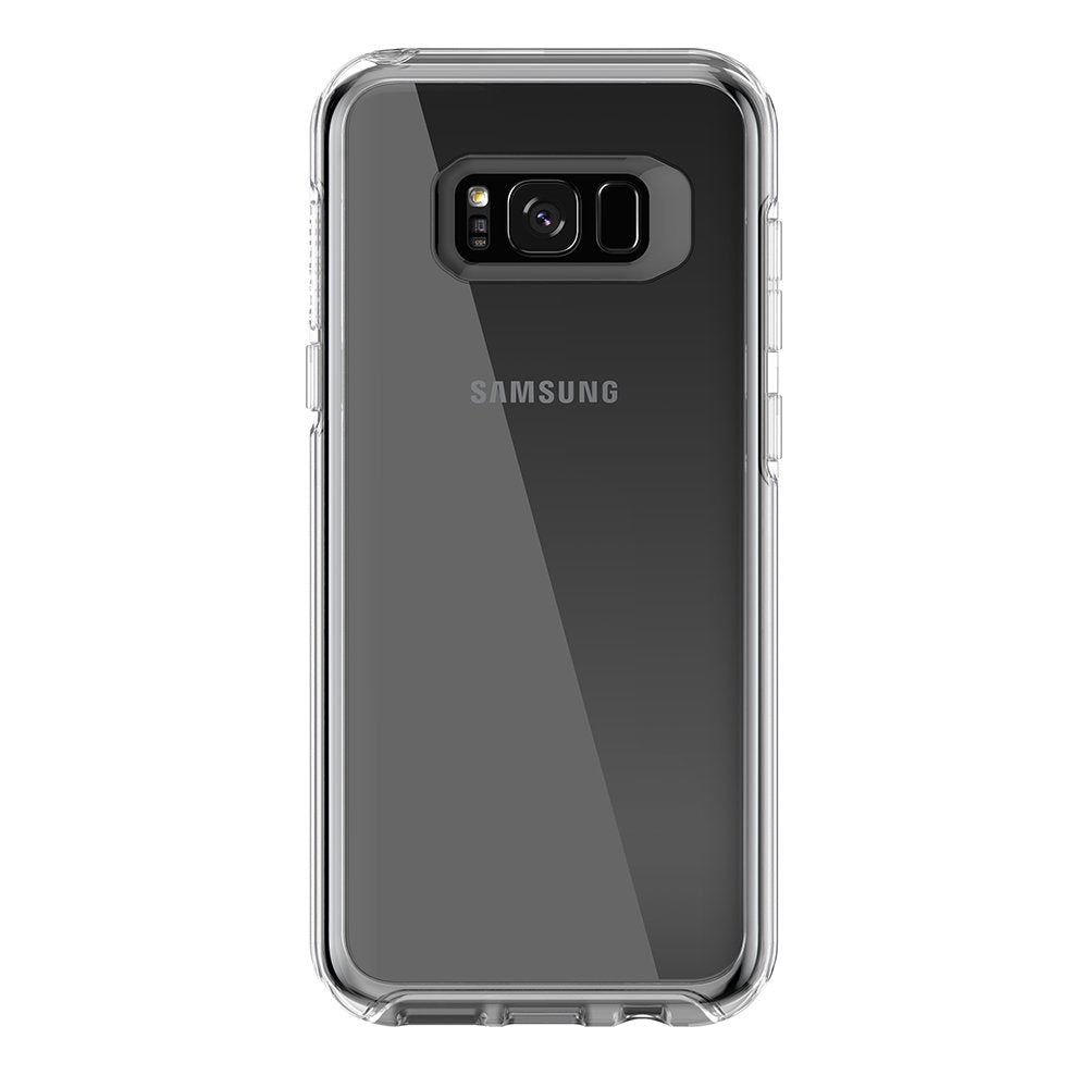 OtterBox SYMMETRY SERIES Case for Galaxy S8 Plus (ONLY) - Clear (Certified Refurbished)