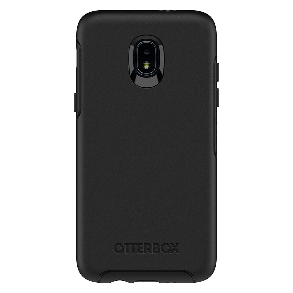 OtterBox SYMMETRY SERIES Case for Galaxy J3 (2018) - Black (Certified Refurbished)