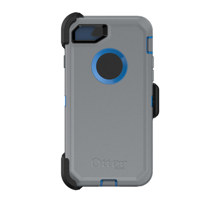 OtterBox DEFENDER SERIES Case & Holster for iPhone 7 / 8 (ONLY) - Marathoner (Certified Refurbished)
