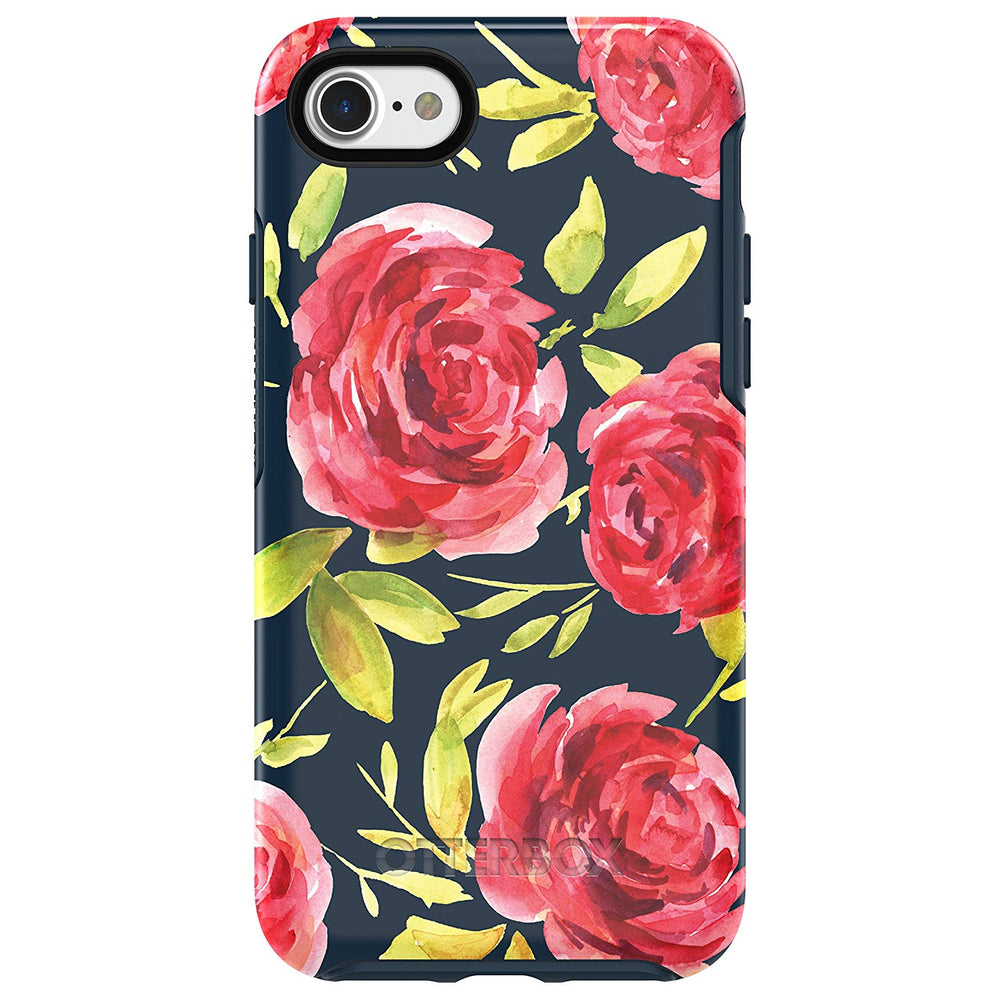 OtterBox SYMMETRY SERIES Case for iPhone 7 / 8 (ONLY) - Bouquet (Certified Refurbished)