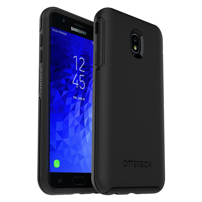 OtterBox Galaxy J7 (2017) SYMMETRY SERIES Case - Black (Certified Refurbished)
