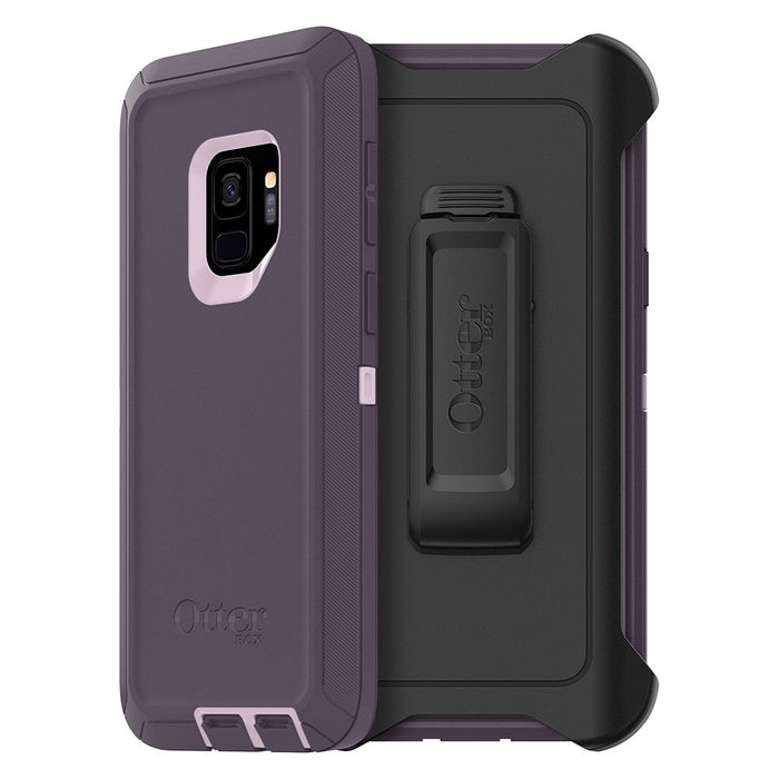 OtterBox DEFENDER SERIES Case & Holster for Galaxy S9 Plus - Purple Nebula (Certified Refurbished)