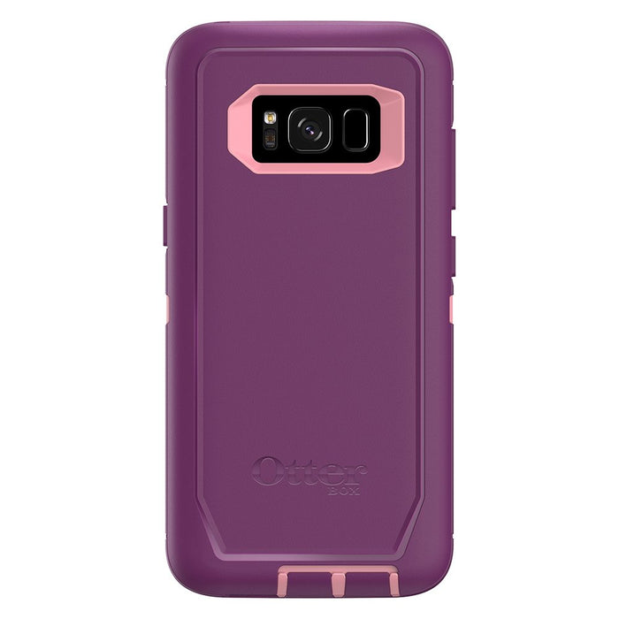 OtterBox DEFENDER SERIES Case & Holster for Galaxy S8 (77-54518) Vinyasa (Certified Refurbished)