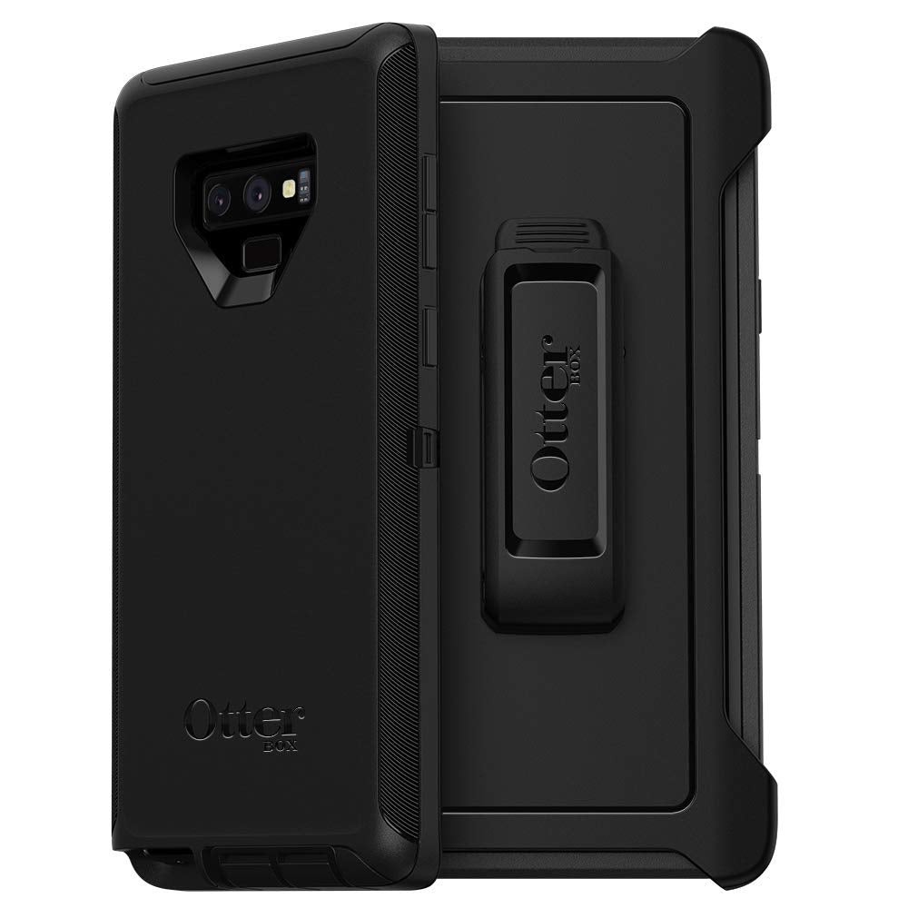 OtterBox DEFENDER SERIES Case & Holster for Galaxy Note9 (ONLY) - Black (Certified Refurbished)