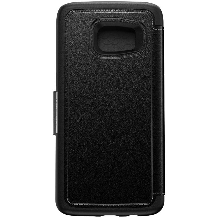 OtterBox STRADA SERIES Case for Galaxy S7 Edge (ONLY) - Onyx Black (Certified Refurbished)