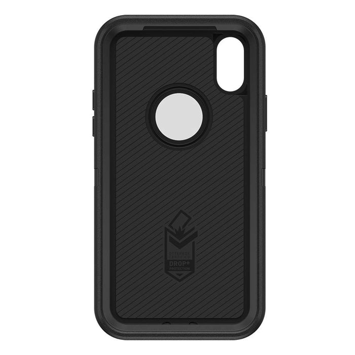 Otterbox DEFENDER SERIES Case & Holster for iPhone X / XS - Black (Certified Refurbished)
