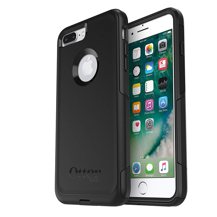OtterBox COMMUTER SERIES Case for iPhone 7 / 8 Plus (ONLY) - Black (Certified Refurbished)