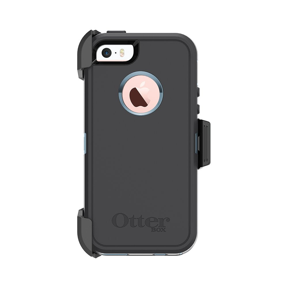 OtterBox DEFENDER SERIES Case & Holster for iPhone 5/5S/SE - Steel Berry (Certified Refurbished)