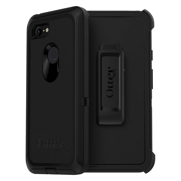 OtterBox DEFENDER SERIES Case & Holster for Pixel 3 XL (ONLY)-Black (Certified Refurbished)
