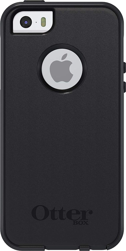 OtterBox COMMUTER SERIES Case for iPhone 5 / 5S (ONLY) - Black (Certified Refurbished)