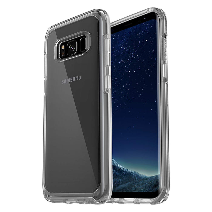 OtterBox SYMMETRY SERIES Case for Galaxy S8 (ONLY) - Clear (Certified Refurbished)