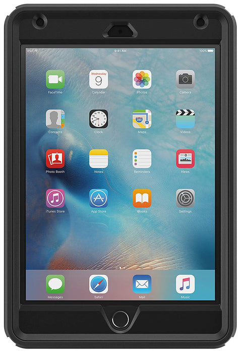 OtterBox DEFENDER SERIES Case & Stand for iPad Mini 4 (ONLY) - Black (Certified Refurbished)
