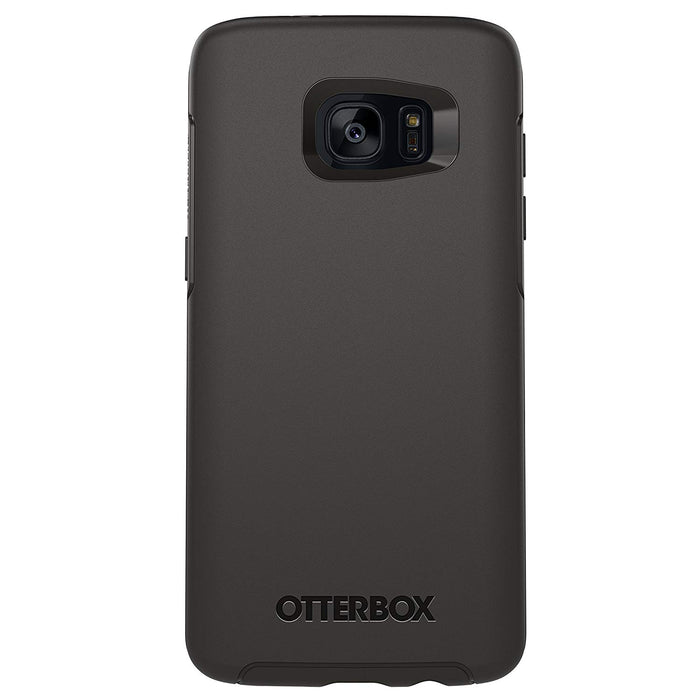 OtterBox SYMMETRY SERIES Case for Galaxy S7 EDGE (ONLY) - Black (Certified Refurbished)