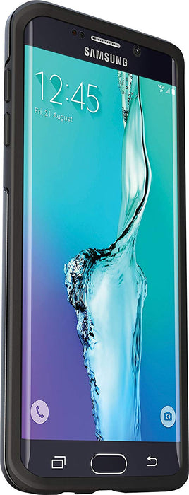 OtterBox SYMMETRY SERIES Case for Galaxy S6 Edge Plus (ONLY) - Black (Certified Refurbished)
